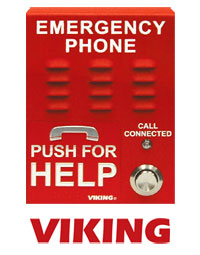 Emergency phone by Viking Security & Communication Solutions