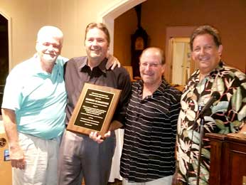 Robert Schaeffer Honored at the Pop Joe 2017 Annual Golf Tournament