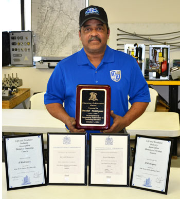 Hector Rodriquez - D and D Certified Elevator Technician